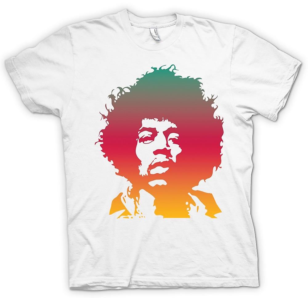 Womens T-shirt-Jimi Hendrix-Cool-Portrait