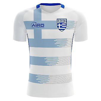 2018-2019 Greece Home Concept Football Shirt