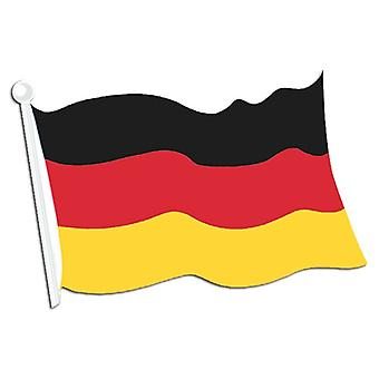 Deutsche Flagge Ausschnitt