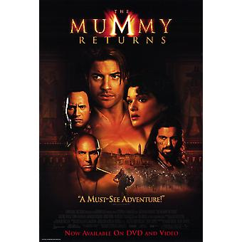 The Mummy Returns Movie Poster (11 x 17)