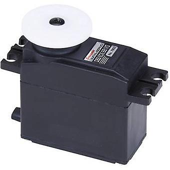グラウプナー標準サーボ デ 805 BB デジタル サーボのギア ボックス材質: 炭素コネクタ システム: JR