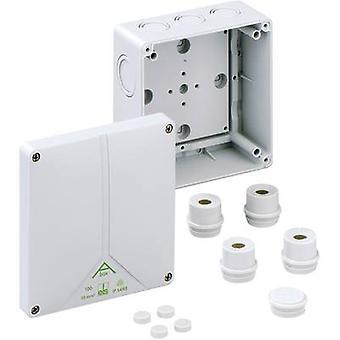 Joint box (L x W x H) 140 x 140 x 79 mm Spelsberg 81091001 Grey