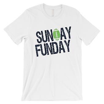 SUNDAY FUNDAY T-Shirt Seattle Mens grappig spel Tee Shirt giften van de dag