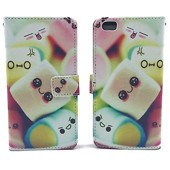 Handyhülle Tasche für Handy Xiaomi Mi 5  Schriftzug Marshmallows