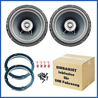 VW Scirocco, seat MII, Skoda Fabia, Skoda city go, speaker Kit, door front