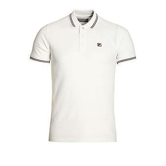 Fila Vintage Matcho Polo Shirt White