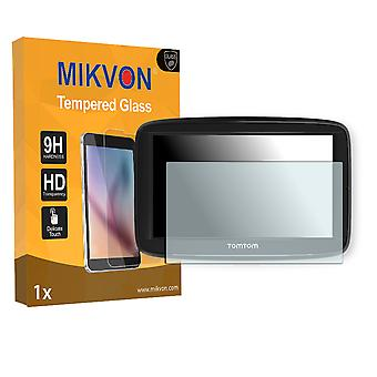 TomTom Via 52 Screen Protector - Mikvon flexible Tempered Glass 9H (Retail Package with accessories)