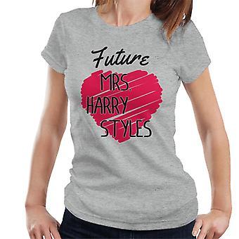 Future Mrs Harry Styles Women's T-Shirt
