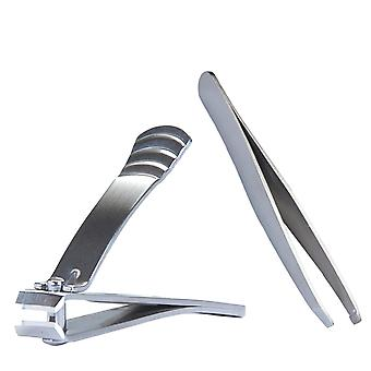 Stiles Tweezer and Clipper set - Nickel