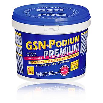GSN Gsn Podium Premium 1 Kg (Sport , Muscle mass , Energy , Proteins , Energy)