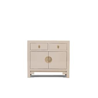 The Nine Schools Qing Oyster Grey Medium Sideboard - Baumhaus