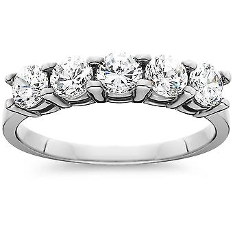 1 1/4ct Diamond Wedding White Gold Anniversary New Ring