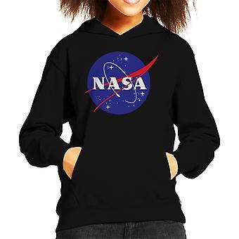 Il NASA Insignia classico ragazzo felpa con cappuccio