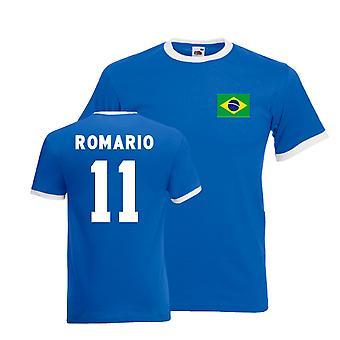 Romario Brasil Camiseta del campanero (azul)