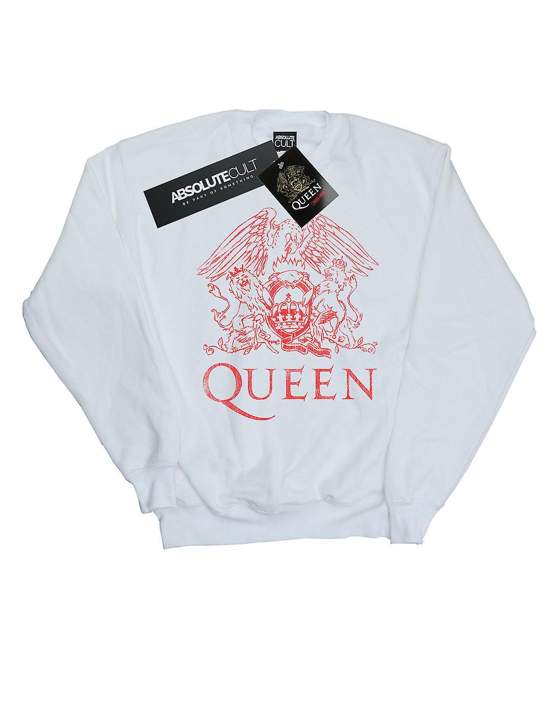 Koningin meisjes noodlijdende Crest Sweatshirt