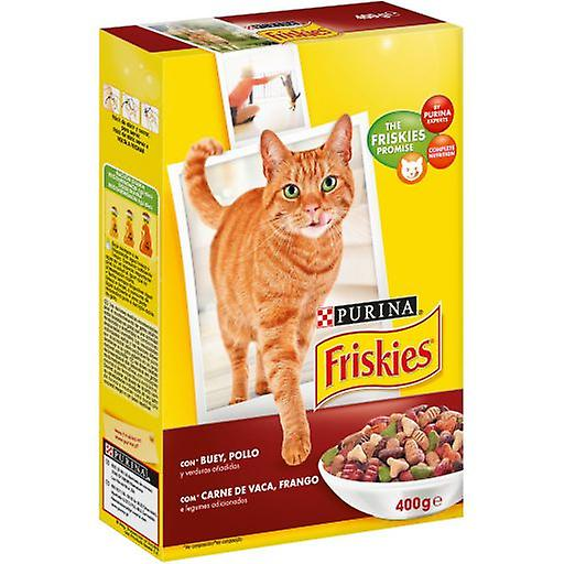 Friskies Adult with Beef, Chicken and Vegetables (Cats , Cat Food , Dry Food)
