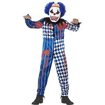 Deluxe Sinister Clown Costume, Tween 12+