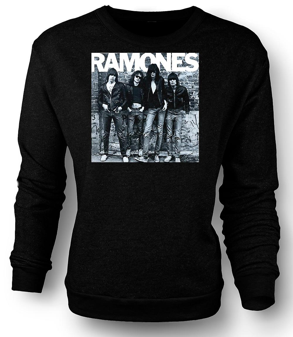 Mens Sweatshirt Ramones - Punk-Rock - Album-Cover
