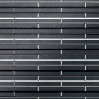 Metal mosaic Raw Steel ALLOY Deedee-RS