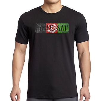 Afghanistan Afghani Flag - Words T Shirt