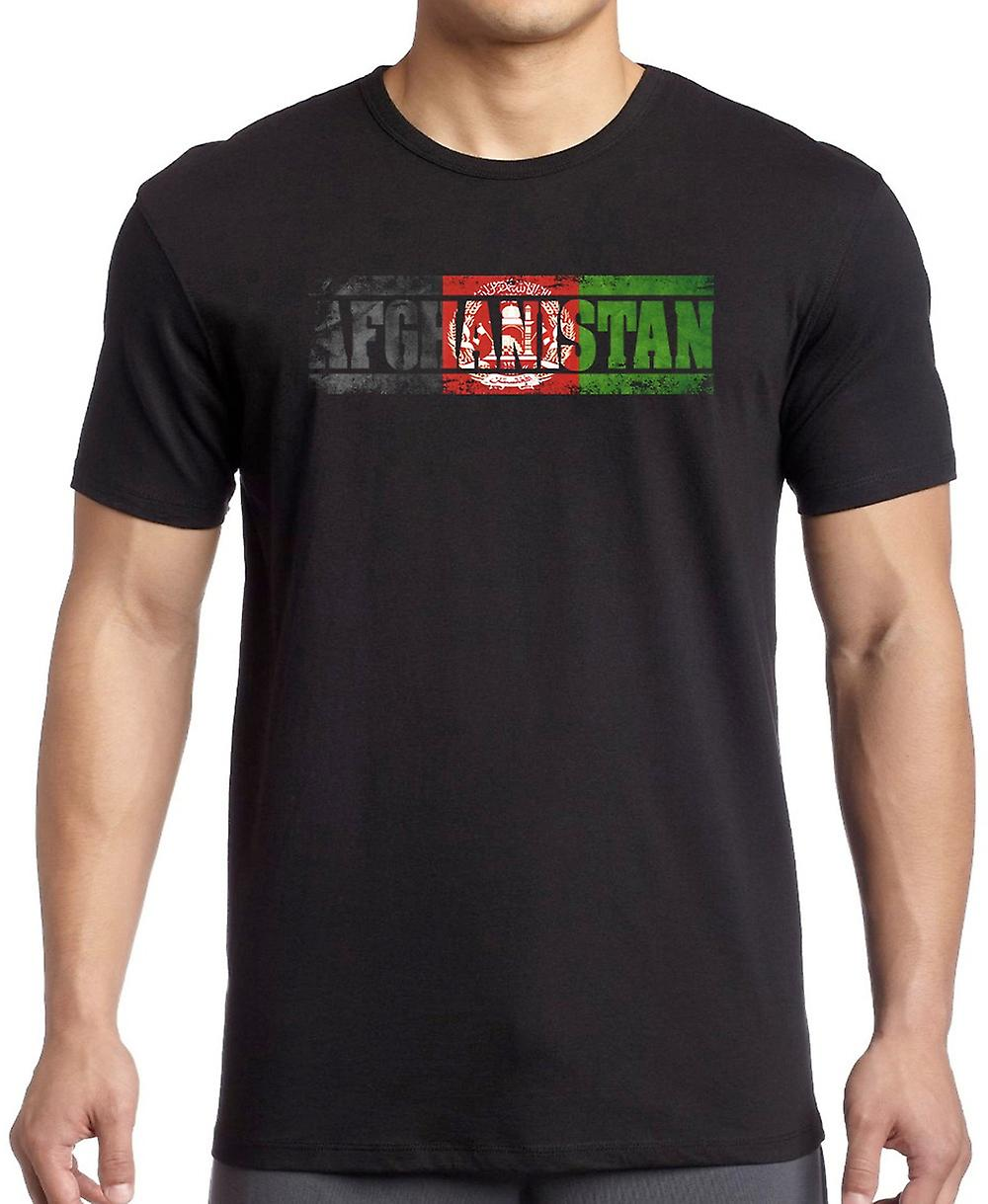 Afghanistan Afghani Flag - Words Kids T Shirt