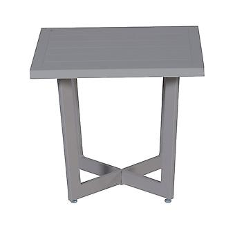 Table d'appoint jardin Impressions Ivy 47, 5x47x5xH42 cm-sable