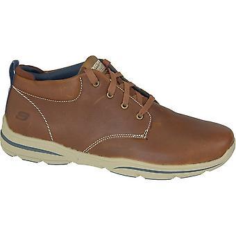 スケッチャーズ ハーパー Melden 64857LUG トレッキング冬男性靴