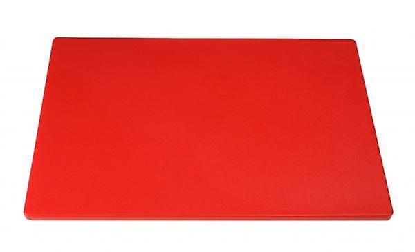 Heavy Duty Large Chopping Board Red