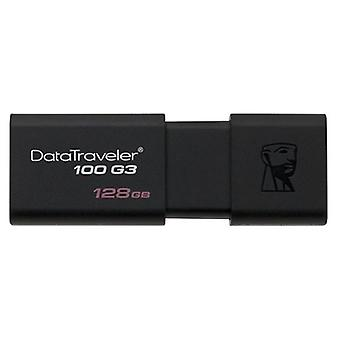 USB-Stick Kingston 128 GB schwarz DT100G3
