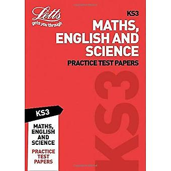 KS3 Maths, English and Science Practice Test Papers (Letts KS3 Revision Success) (Letts KS3 Revision Success)