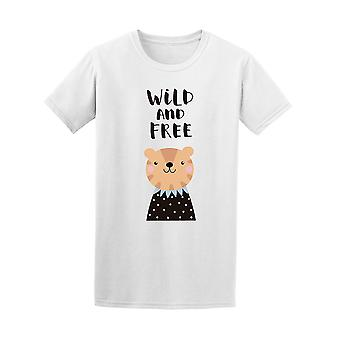 Funny Wild And Free Men's Tee - Image by Shutterstock
