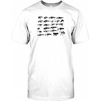 Heckler und Koch Pistole Collage - Kinder T Shirt