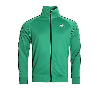 Kappa Banda Anniston Track Jacket | Green/White