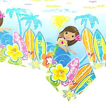 Hula Beach Party Tablecover - 54x 84 inches