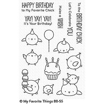 My Favorite Things Birthday Chicks Clear Stamps (BB-55)