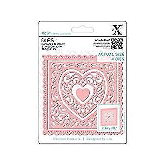 Xcut Dies Heart Frames (4pcs) (XCU 503389)