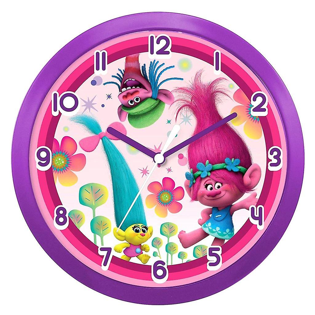 Clock Wall Wall Trolls Dreamworks Dreamworks Trolls Jl1FcKT