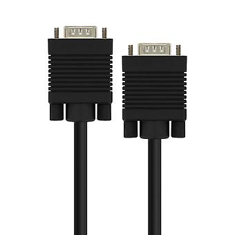 VGA Male to VGA Male Video Adapter Cable 5m LinQ Black