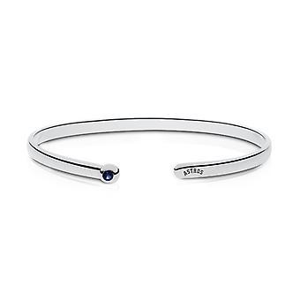 Houston Astros Astros Engraved Dark Sapphire Cuff Bracelet