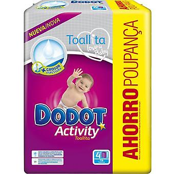 Dodot Wipes Activity 216 Units (Baby & Toddler , Diapering , Baby Wipes)