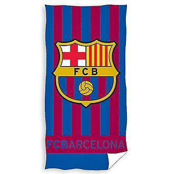 FC Barcelona Stripe Handtuch