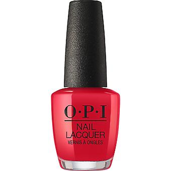 OPI Nail Lacquer Scotland Collection Red Heads Ahead 0.5 oz.