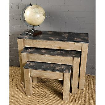 Wooden Tables (Set Of 3)