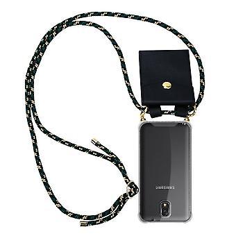 Cadorabo Hülle für Samsung Galaxy NOTE 3 - TPU Silikon mit Kordelzug und abnehmbarer Hülle und rückseitiger Hülle