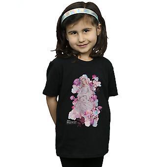 Disney Girls Maleficent Mistress Of Evil Aurora Rose Bush T-Shirt