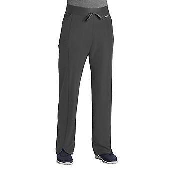 Jockey Scrubs 2428 Women's Performance RX Get-Up-and-Go, Charcoal, Size XX-Large