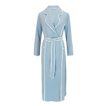 Feraud 3883035-11828 Women's Powder Blue Robe Loungewear Bath Dressing Gown