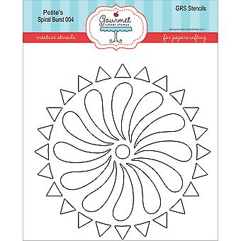 Gourmet Rubber Stamps Petite Stencils 4.25