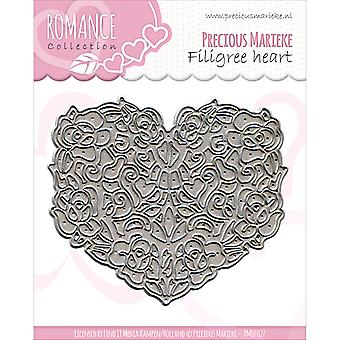 Find It Trading Precious Marieke Romance Die-Filigree Heart PM10027