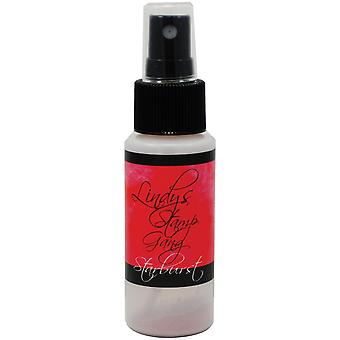 Lindy's Stamp Gang Starburst Spray 2Oz Bottle Peony Scarlet Red Sbs 42